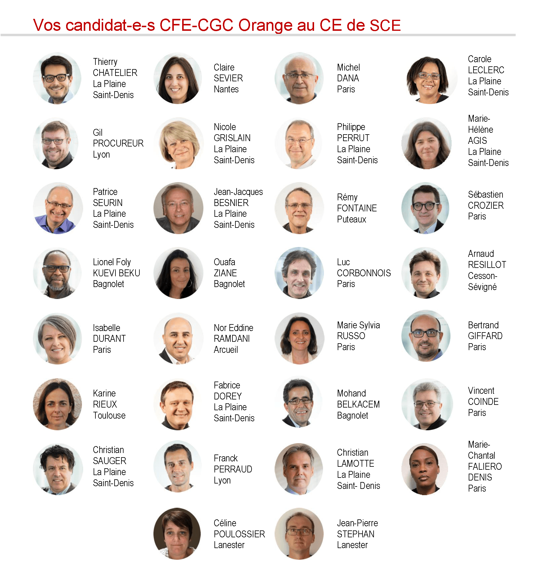 Elections CE-DP 2017 à Services Communication Entreprise